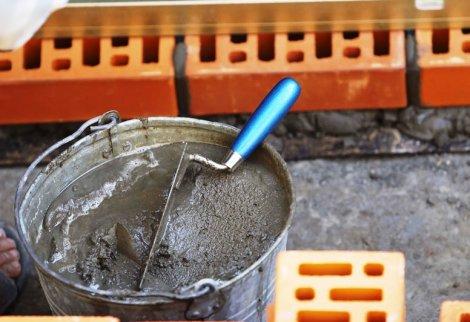 цементный раствор для ремонта