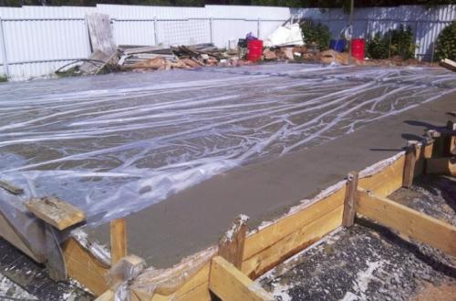 Бетон поливать водой завод ячеистого бетона ижевск адрес