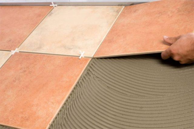 Керамическая плитка на фанеру
