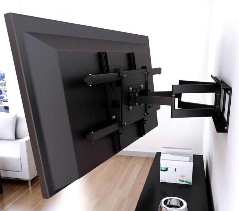 Как снять телевизор с кронштейна